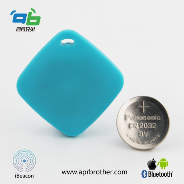 UUID switchable Smart BLE iBeacon& Eddystone beacon ABKey01